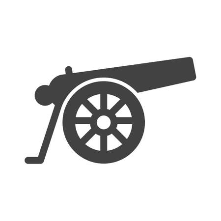 Cannon, war, weapon icon image.