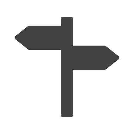 sign post: Sign, post, direction icon image.