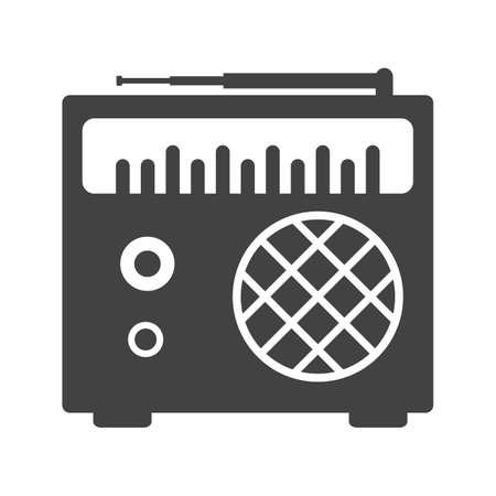 tuner: Radio, speaker, tuner icon image.