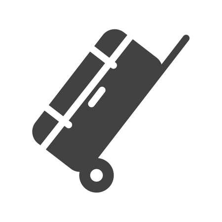 duffle: Bag, luggage, travel icon image.