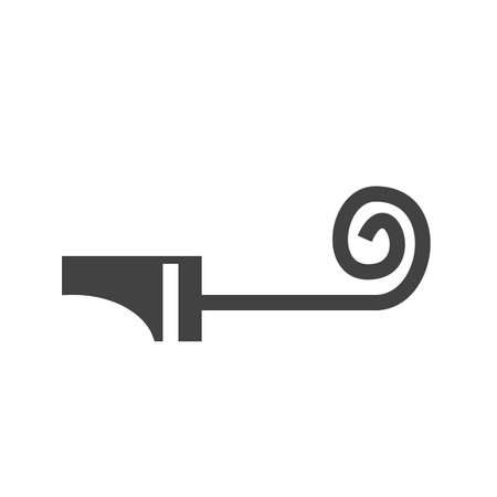 blower: Party, whistle, blower icon image.