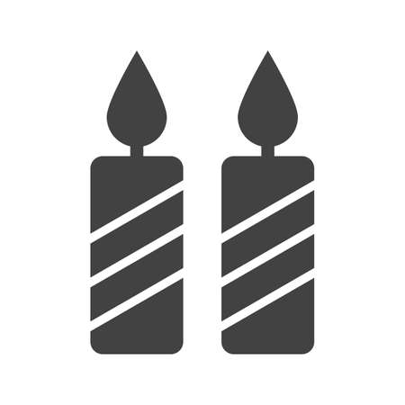 dinner party: Candles, party, dinner icon image.