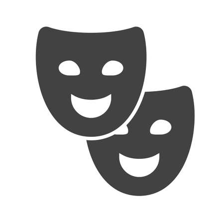 movie theater: Theater, movie, cinema icon image.