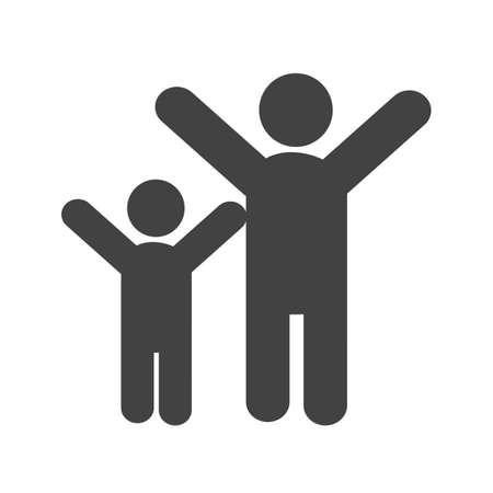 people celebrating: People, celebrating, party icon image.
