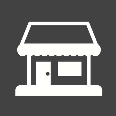 media center: Shop, center, building icon vector image.Can also be used for building and landmarks . Suitable for mobile apps, web apps and print media.
