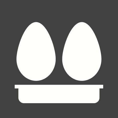 iconset: Eggs, white, hen icon vector image.Can also be used for food iconset. Suitable for mobile apps, web apps and print media.