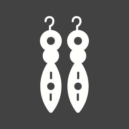 aretes: Pendientes icono