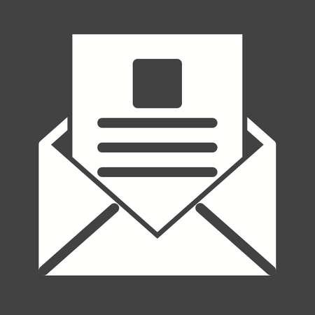 inbox icon: email, inbox icon Illustration