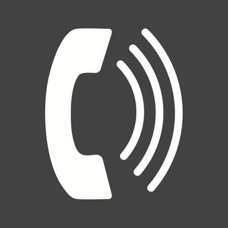 phone call: Phone call icon Illustration
