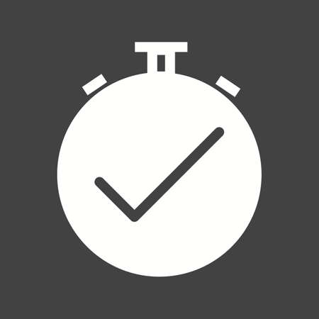 awake: Clock alarm awake icon Illustration