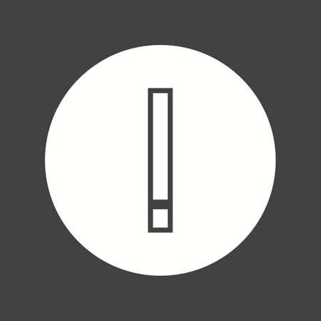 errors: warning icon Illustration
