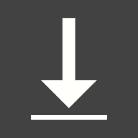 mobile app: Mobile app download icon Illustration
