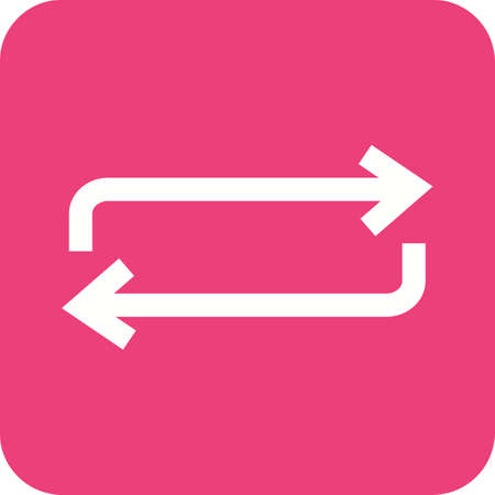undo: Arrow, undo, refresh icon vector image. Can also be used for arrows. Suitable for mobile apps, web apps and print media.