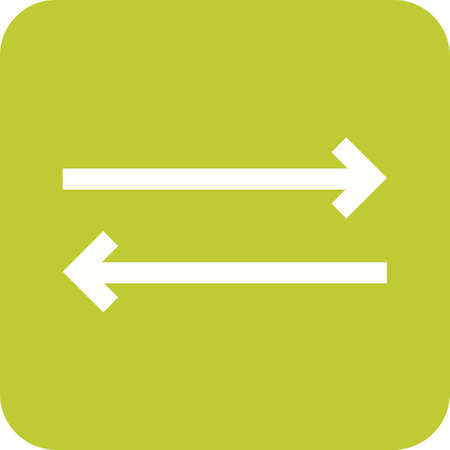 reversible: Sync, arrows, update icon vector image. Can also be used for arrows. Suitable for mobile apps, web apps and print media.