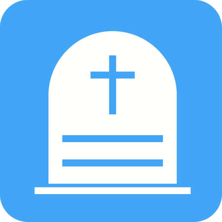 cemetry: Cemetry, town, building icon vector image.Can also be used for building and landmarks . Suitable for mobile apps, web apps and print media.