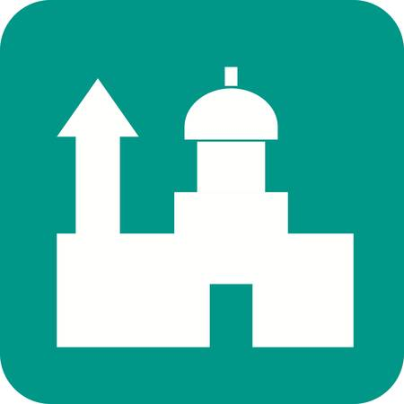 saint pauls cathedral: Saint, pauls, cathedral icon vector image.Can also be used for building and landmarks .Suitable for mobile apps, web apps and print media.