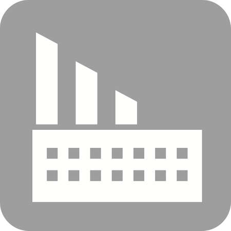 lumber mill: Mill, industry, building icon vector image.Can also be used for building and landmarks . Suitable for mobile apps, web apps and print media.