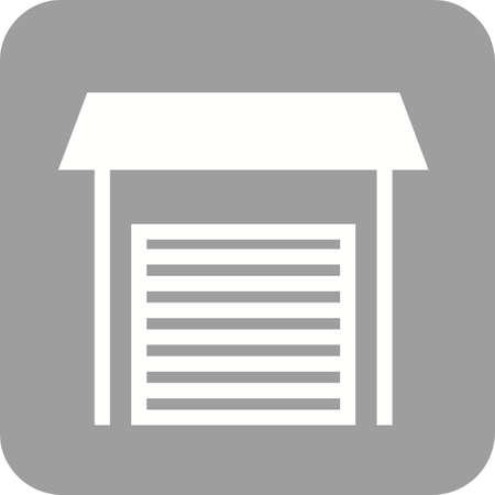 open car door: Garage, parking, door icon vector image.Can also be used for housing. Suitable for mobile apps, web apps and print media. Illustration