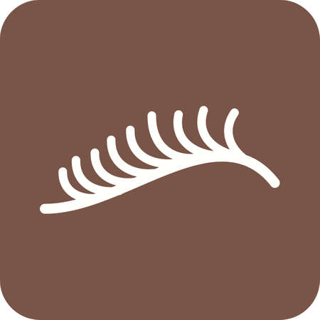 eyelash: Eyelash, curler, eye icon vector image. Can also be used for makeup and accessories. Suitable for use on web apps, mobile apps and print media.