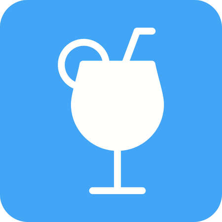 carbonated beverage: Drink, party, bottle icon vector image.Can also be used for hotel and restaurant. Suitable for mobile apps, web apps and print media.