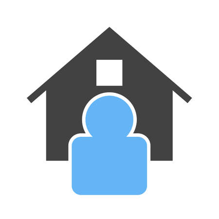 asian business meeting: Estate, agent, house icon vector image.Can also be used for housing. Suitable for mobile apps, web apps and print media.