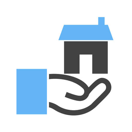 financial advice: Estate, agent, house icon vector image.Can also be used for housing. Suitable for mobile apps, web apps and print media.