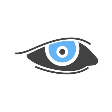 brows: Eyes, makeup, eyeliner icon vector image. Can also be used for makeup and accessories. Suitable for web apps, mobile apps and print media. Illustration