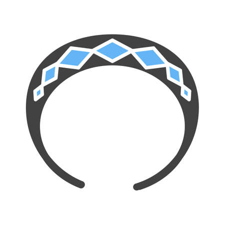 hair band: Hair, band, rubber icon vector image. Can also be used for makeup and accessories. Suitable for web apps, mobile apps and print media.