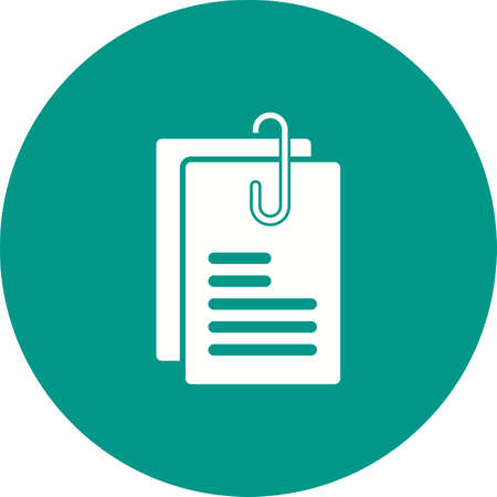 appointment: Note, paper, appointment icon vector image. Can also be used for objects. Suitable for web apps, mobile apps and print media. Illustration