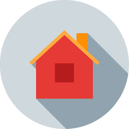 luxury home exterior: Home, room, house icon vector image.Can also be used for building and landmarks . Suitable for mobile apps, web apps and print media. Illustration