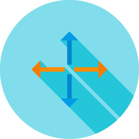 extend: Full, extend, display  icon vector image. Can also be used for arrows. Suitable for mobile apps, web apps and print media.