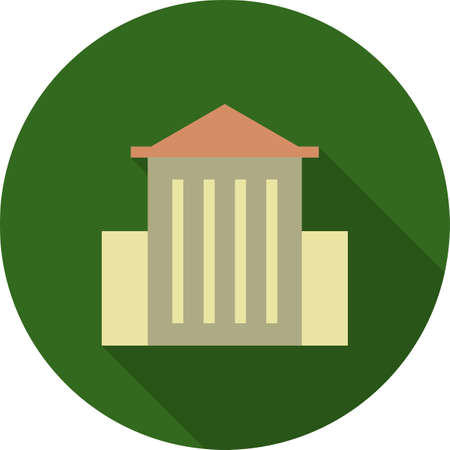 art museum: Museum, art, metropolitan icon vector image.Can also be used for building and landmarks . Suitable for mobile apps, web apps and print media.