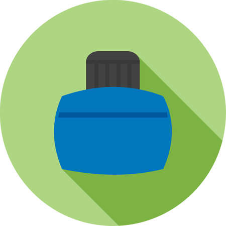 ink bottle: Ink, bottle, pen icon vector image. Can also be used for office. Suitable for web apps, mobile apps and print media.