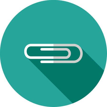 thumbtack: Pin, thumbtack, clip icon vector image.