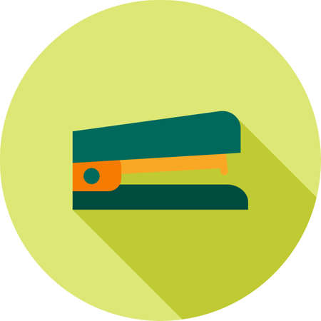 office stapler: Stapler, desk, work icon vector image. Can also be used for office. Suitable for web apps, mobile apps and print media. Stock Photo