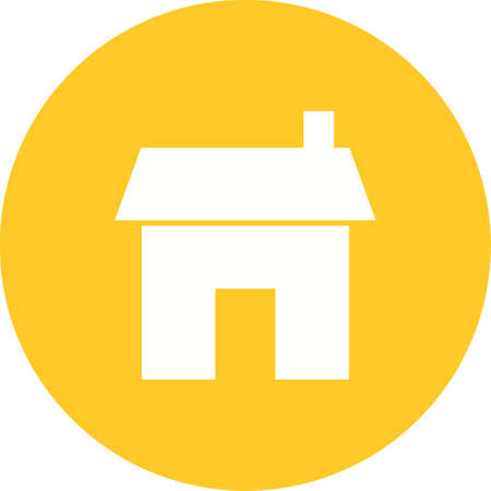luxury house exterior: Home, room, house icon vector image.Can also be used for housing. Suitable for mobile apps, web apps and print media.