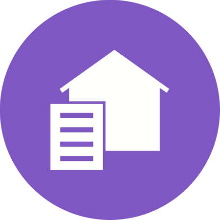 paperwork: Paperwork, paper, signing icon vector image.Can also be used for housing. Suitable for mobile apps, web apps and print media.