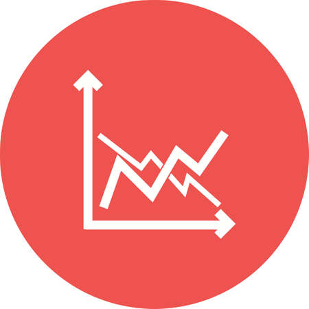 バー、グラフ アイコン ベクトル画像の周波数。企業経営にも使用できます。Web アプリ、携帯アプリ、印刷媒体での使用に適しています。