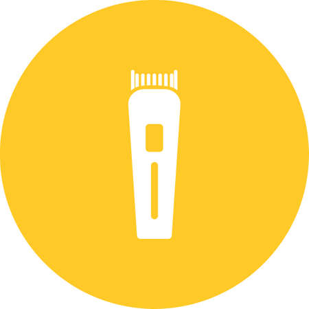 trimmer: Trimmer, barber, hair icon vector image.Can also be used for barbers tools. Suitable for mobile apps, web apps and print media.