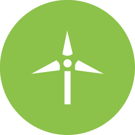 wind farm: Windmill, wind, farm icon vector image.Can also be used for ecology. Suitable for mobile apps, web apps and print media.