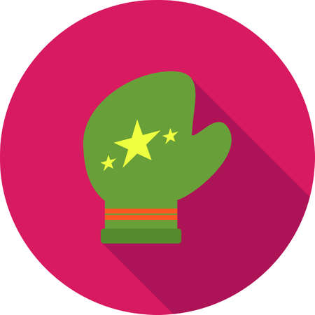 protective glove: Glove, leather, protective icon vector image. Can also be used for fitness and sports. Suitable for web apps, mobile apps and print media.