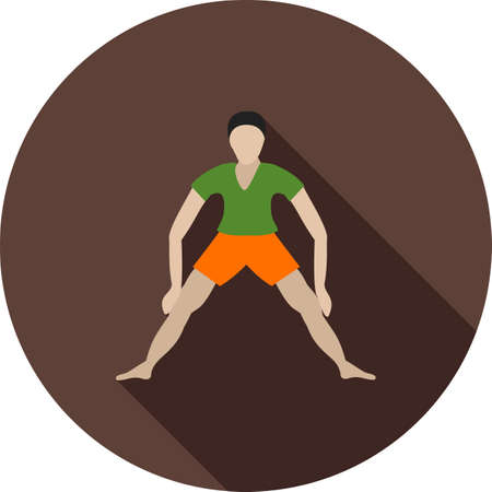 activity exercising: Fitness, sport, running icon vector image. Can also be used for fitness and sports. Suitable for web apps, mobile apps and print media.