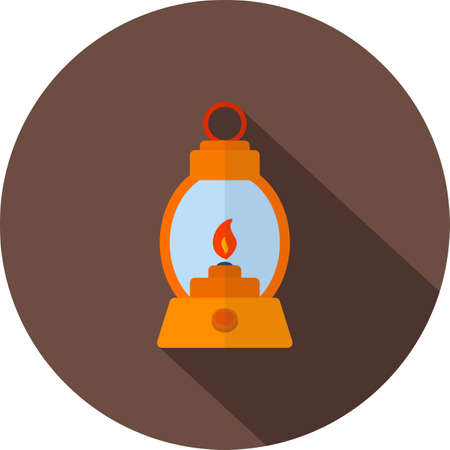 gas lamp: Lamp, gas, lantern icon vector image.Can also be used for camping. Suitable for mobile apps, web apps and print media. Illustration