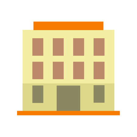 hotel pool: Hotel, pool, resort icon vector image.Can also be used for building and landmarks . Suitable for mobile apps, web apps and print media. Illustration