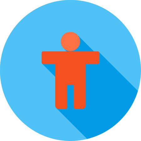 accessible: Sign screen icon vector image. Can also be used for material design. Suitable for use on web apps, mobile apps and print media