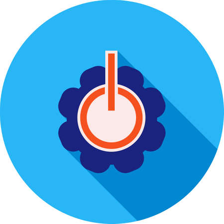 configurations: Change, settings, power icon vector image. Can also be used for material design. Suitable for use on web apps, mobile apps and print media.