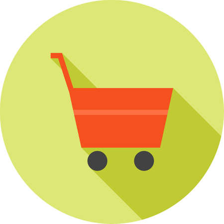 shopping center interior: Shop, center, building icon vector image.Can also be used for material design. Suitable for mobile apps, web apps and print media.