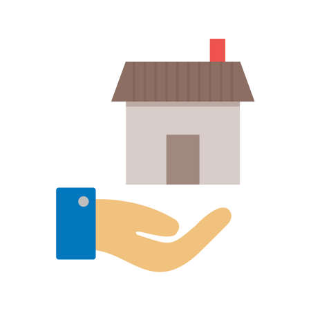 housing estate: Estate, agent, house icon vector image.Can also be used for housing. Suitable for mobile apps, web apps and print media.