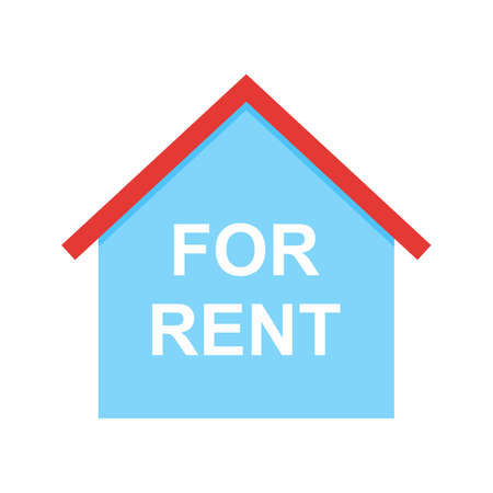 rent house: Agent, rent, house icon vector image.Can also be used for housing. Suitable for mobile apps, web apps and print media.