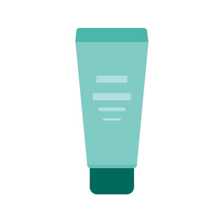 ointment: Cream, ointment, skin icon vector image. Can also be used for makeup and accessories. Suitable for web apps, mobile apps and print media.